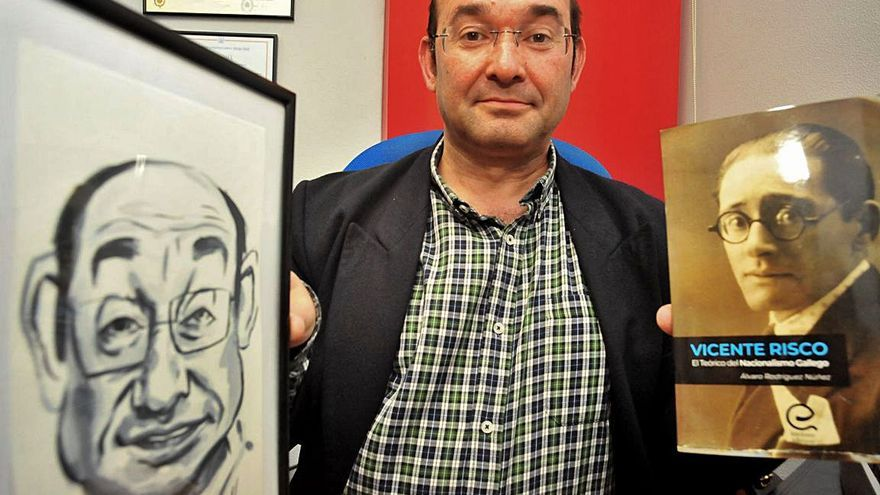 """""""Risco foi un tanto relegado por apoiar a Franco, ser católico e antimarxista"""""""
