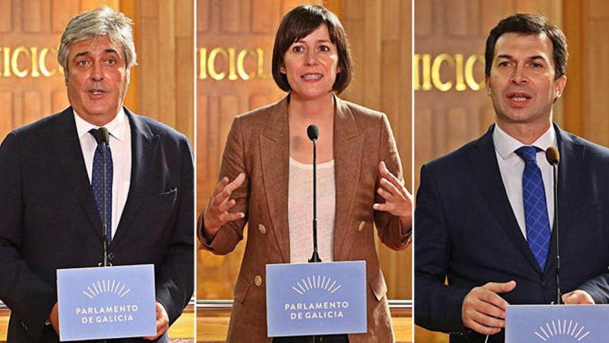"""La oposición, dispuesta a acuerdos, ve a Feijóo """"sin ideas"""" ni """"ambición de país"""""""