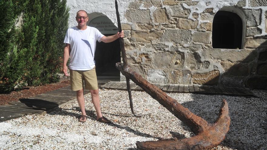 La Fundación Gabarrón transformará el puerto de Beluso con una exposición de Ruud Kuijer