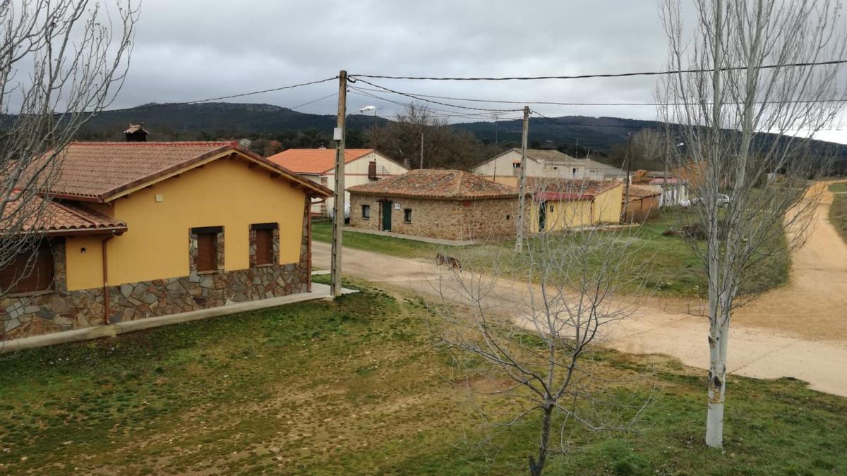 Vista del pueblo de Litos