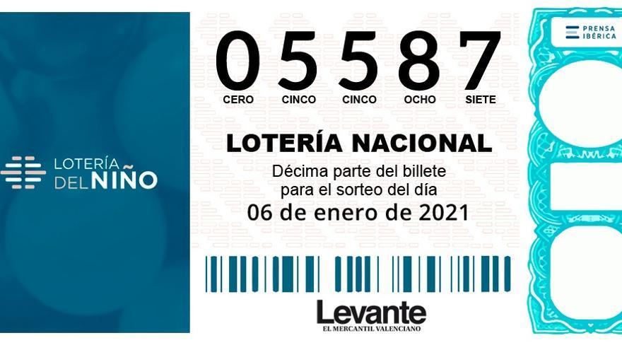 Una decena de municipios valencianos se llevan un pellizco del tercer premio