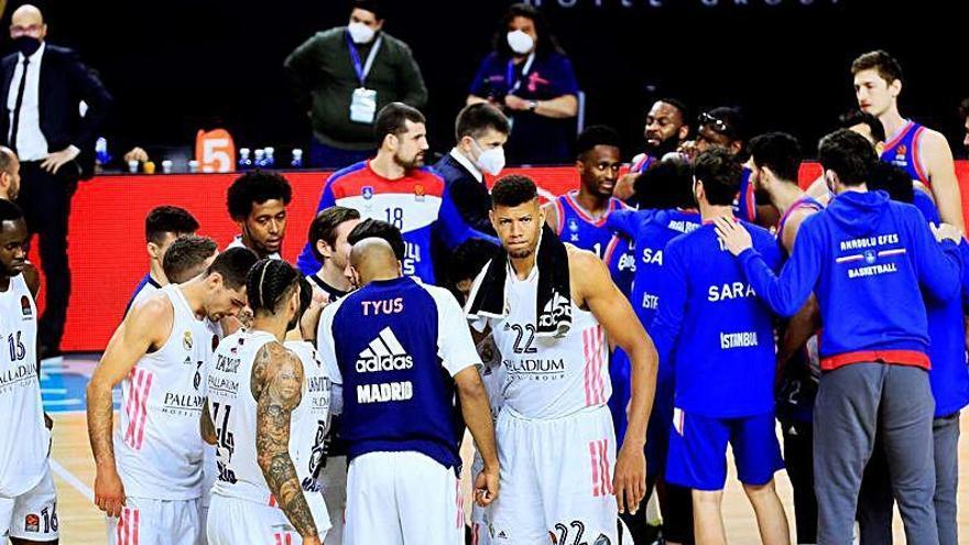 Real Madrid y Zenit dejan el Top-8 en manos del Valencia Basket