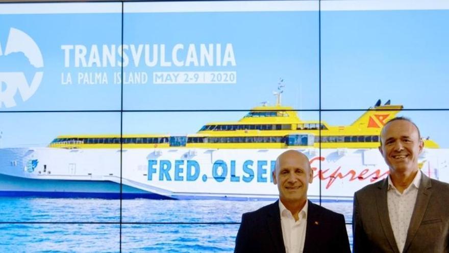Fred. Olsen Express se compromete con TRV