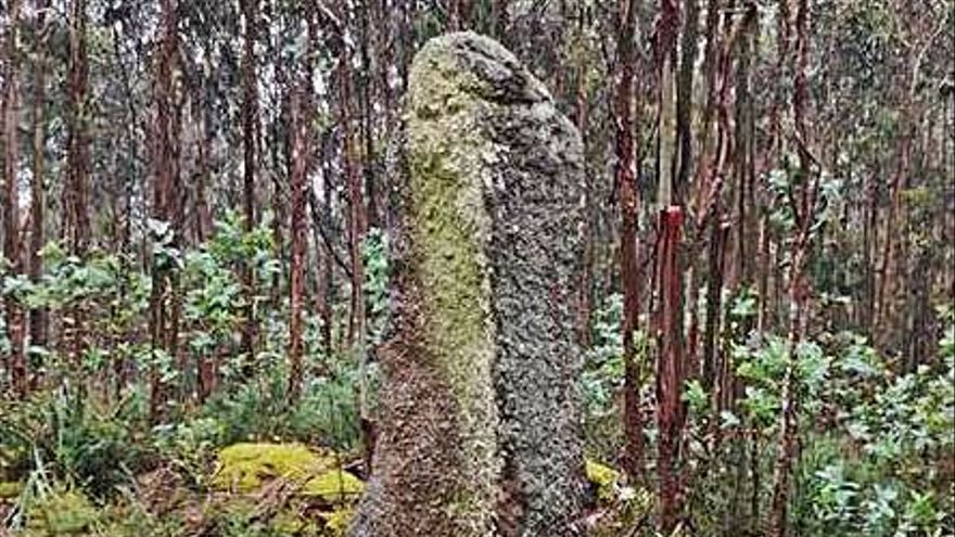 A Laracha expropiará 4.650 metros de los terrenos donde se ubica el menhir de Erboedo