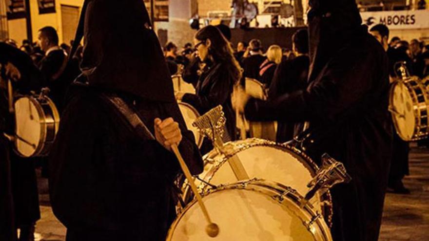Semana Santa de Mula - La noche de los tambores