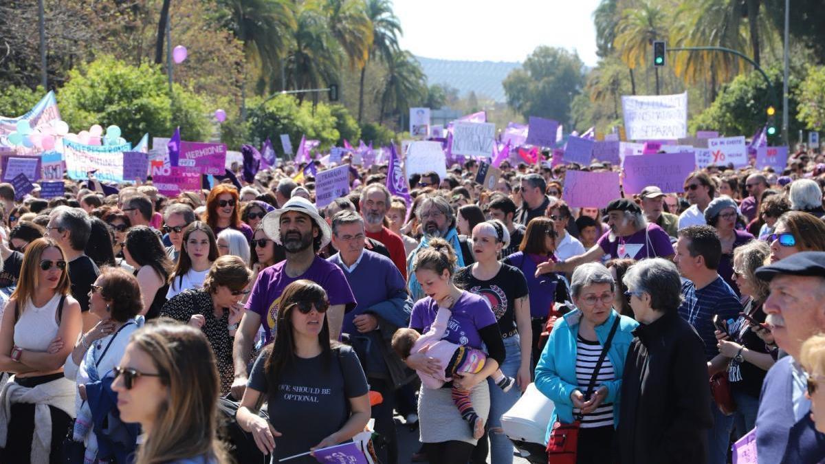 El 8M no habrá manifestación feminista en Córdoba, pero no se descarta alguna acción en la calle