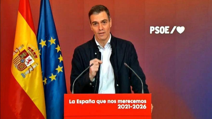 Sánchez destaca el seu constitucionalisme davant les darreres crítiques internes