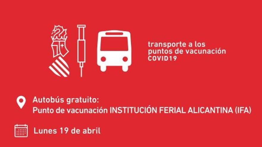 """Consulta aquí los horarios de salida y llegada hacia los """"vacunódromos"""" en la provincia"""