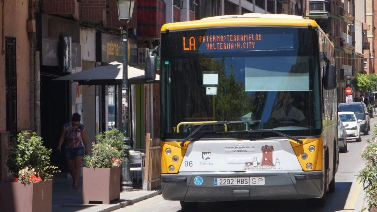 Autobús gratis en Paterna durante el estado de alarma