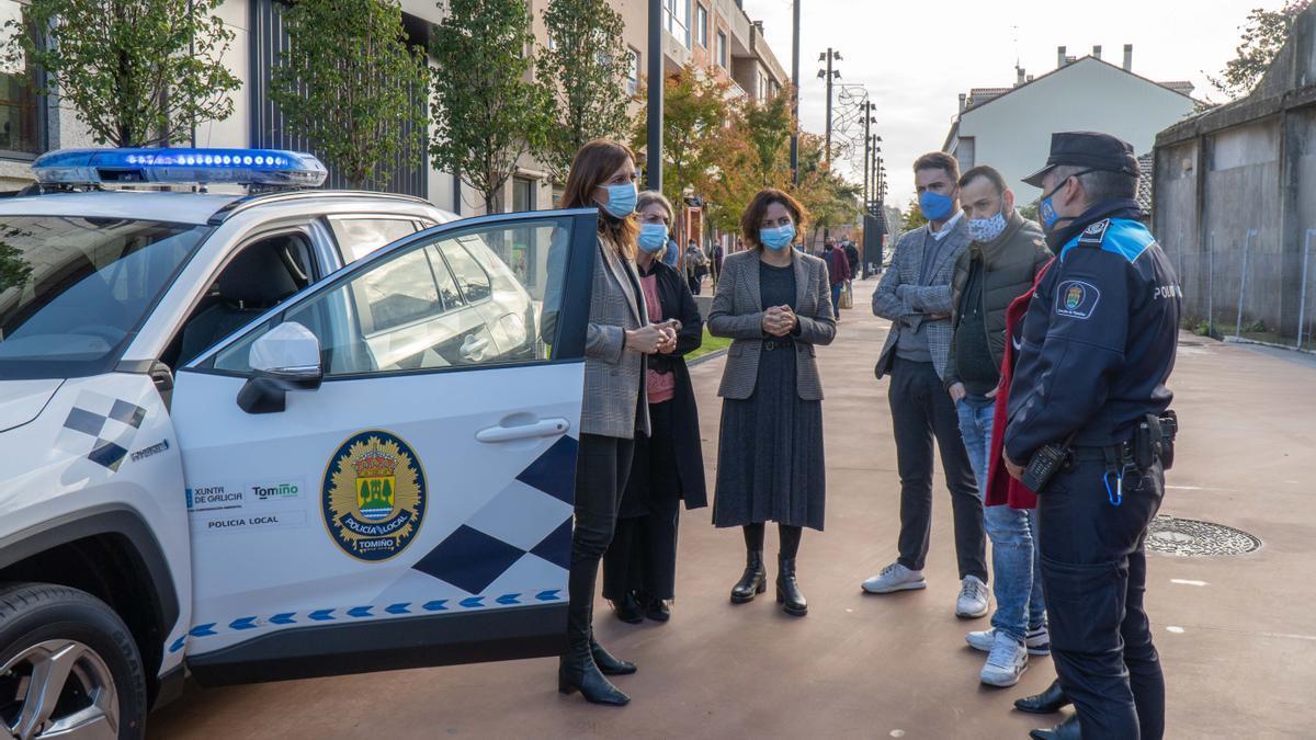 Recepción del nuevo coche de la Policía Local de Tomiño