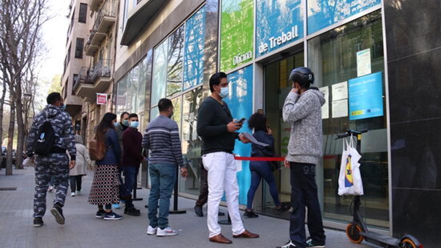 La taxa d'atur a Catalunya es redueix fins al 12,28% després del final de l'estat d'alarma