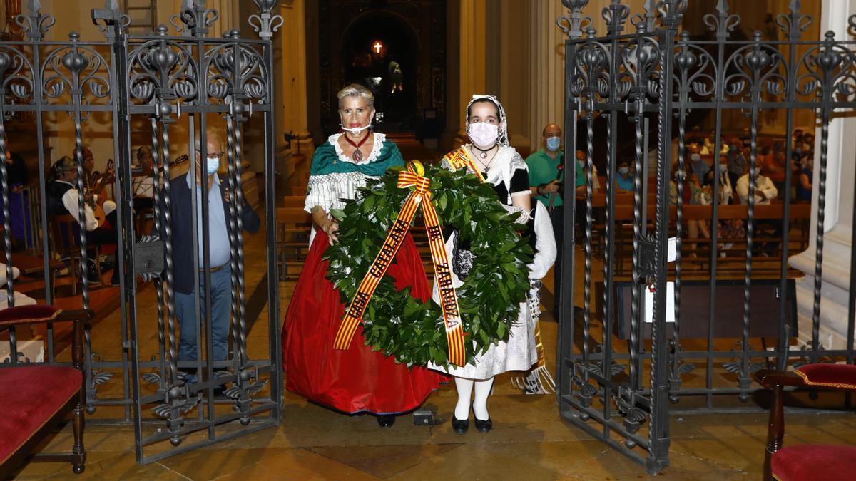 Uno de los muchos actos en los que participa la Casa Catalana de Zaragoza, en este caso en El Portillo.