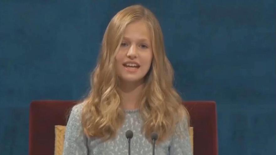 Leonor cumple 14 años con una creciente vida pública