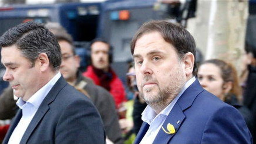 La Fiscalia demana al Tribunal Suprem que mantingui Junqueras a la presó