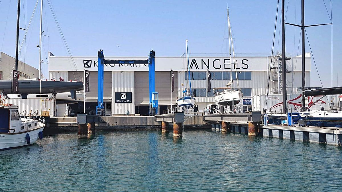 Nuevas instalaciones de Angels (el brazo inversor en startups de Roig) en la Marina de València. | LEVANTE-EMV
