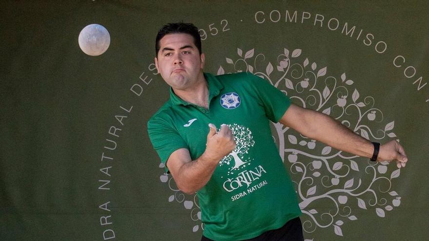 Alberto Palacio, primer finalista del prestigioso campeonato de Ases de Mieres