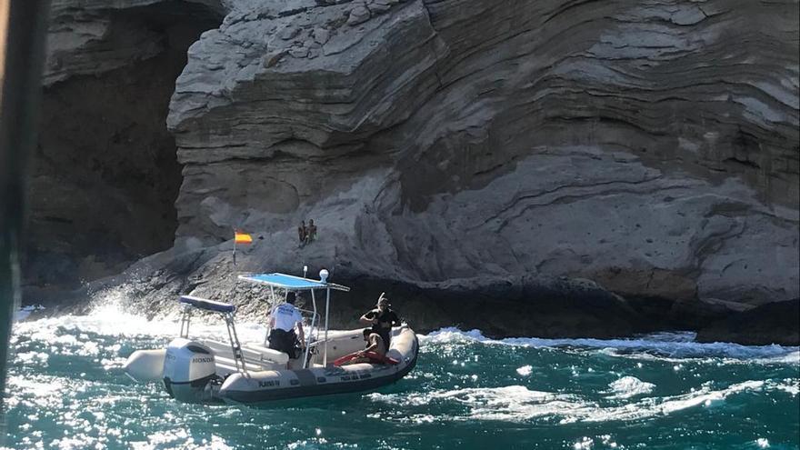 Rescatados en Benidorm casi 6 horas después de salir en kayak al mar