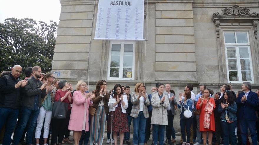 Violencia machista en Galicia | Un clamor de mil nombres en Pontevedra