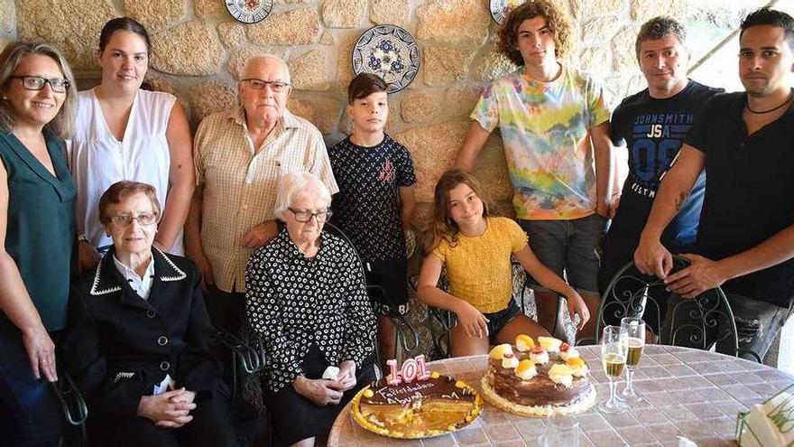 El 42% de los vecinos de Valga superan el medio siglo de vida, según el último censo