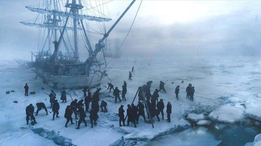 Primeras imágenes del 'Terror', el mítico navío hundido en el polo norte
