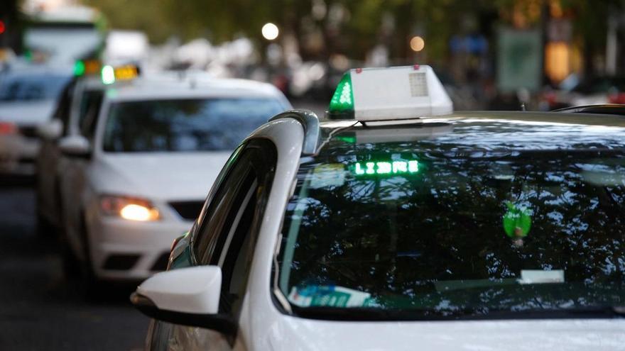 SOS del sector del taxi en el salón de plenos