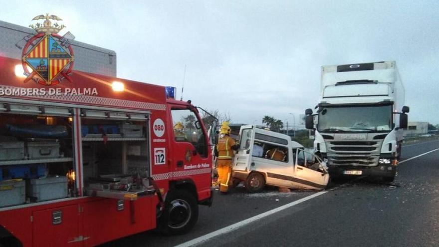 Fünf Schwerverletzte bei vier Unfällen auf Mallorca