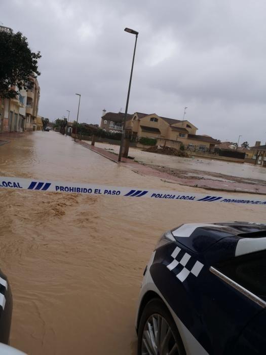 Lluvias en Los Alcázares