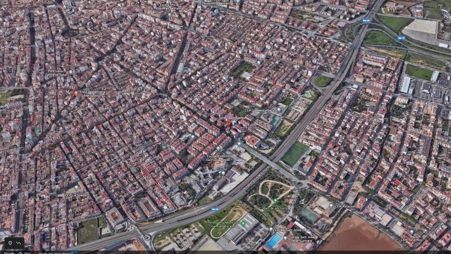 Radiografía de los barrios confinados: Un mapamundi dentro de Palma