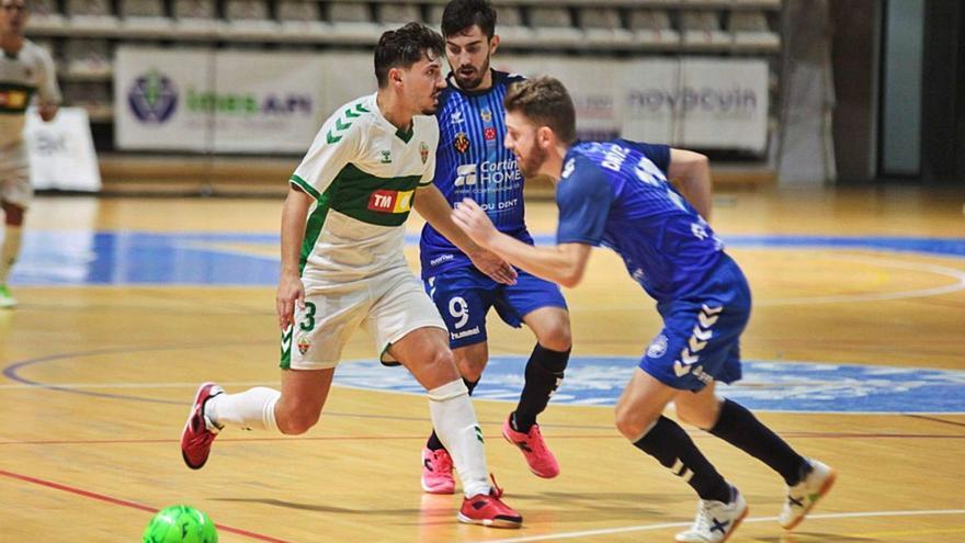 El Elche FS empata en Castellón (6-6)