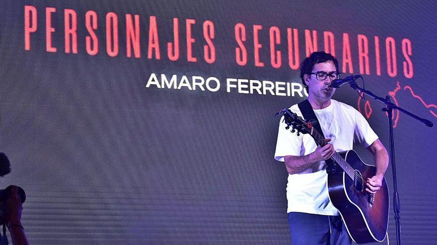 """Amaro Ferreiro pone a prueba el concierto """"bajo control"""" del XVII Festival de Cans"""