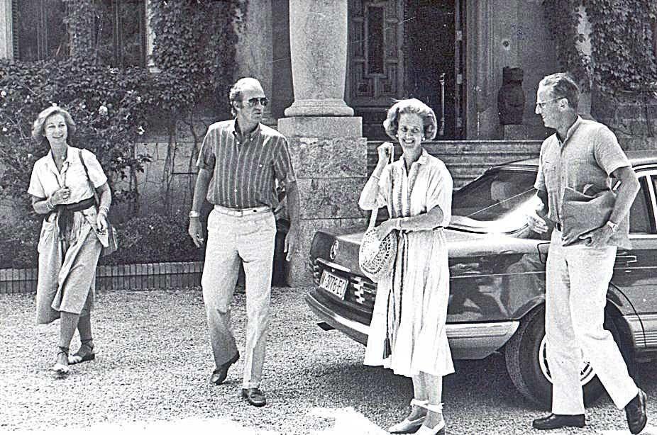 Vacaciones reales en Mallorca: Y llegó Lady Di