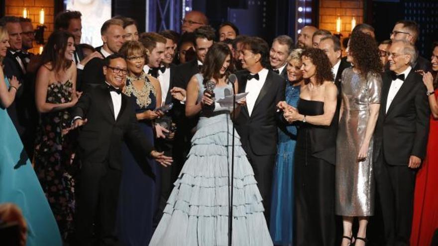'Dear Evan Hansen' triunfa en unos Tony muy repartidos