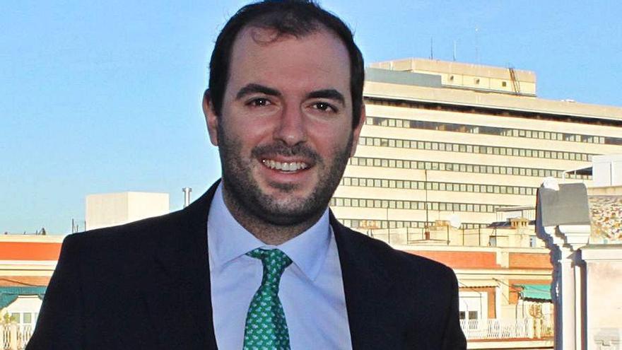 Luis Socías, en la sede de la CEOE.