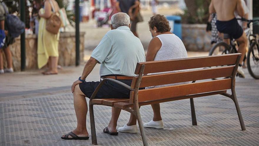 Más de la mitad de los pensionistas cobra menos de 1.000 € al mes