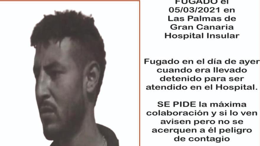 Buscan a un paciente fugado del Hospital Insular de Gran Canaria