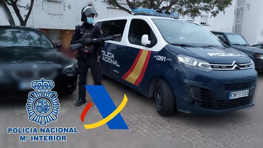 Al menos 11 detenidos en Cádiz de una red financiera de narcotraficantes