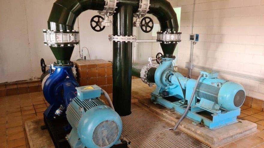 La CHS reforzará el bombeo en el Albujón para reducir la entrada de agua con nitratos al Mar Menor