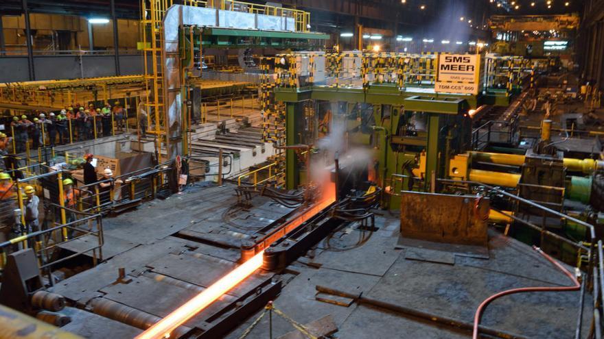 El recorte de Arcelor en Largos, cuatro veces menor al anunciado hace un año