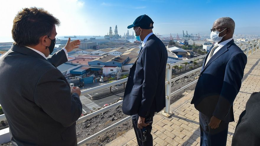Una delegación del Puerto de Nuadibú visita el Puerto de Las Palmas
