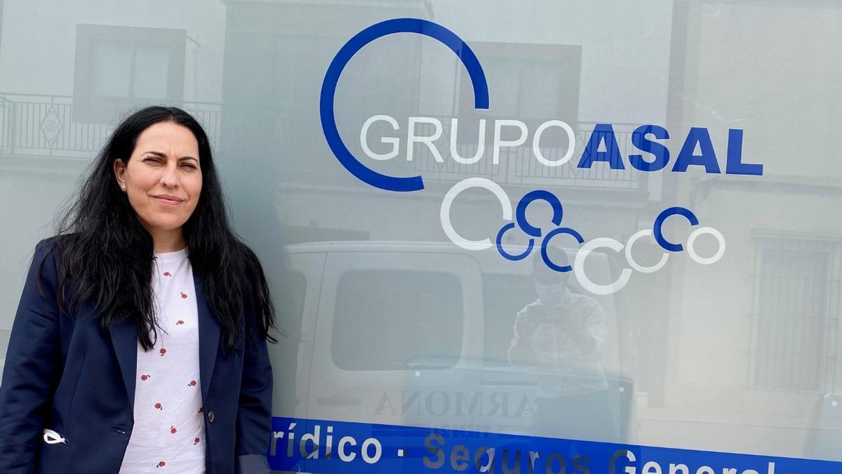 Mamen González, gerente del Grupo Asal
