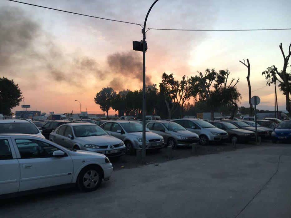 Incendio en el restaurante El Rancho de Mislata.