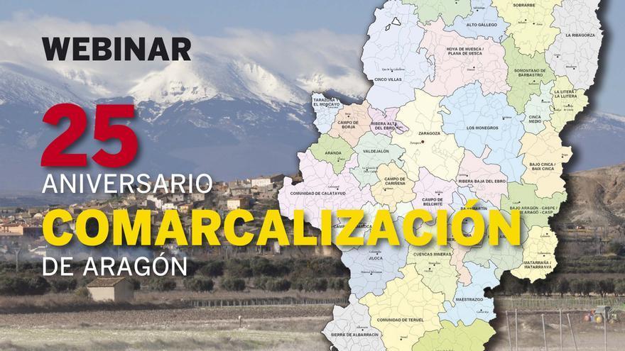 EL PERIÓDICO organiza mañana una webinar por los 25 años de la comarcalización en Aragón
