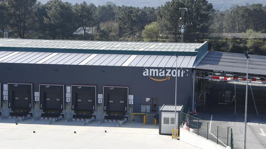 Inspección de Trabajo considera fraudulento el despido de 50 repartidores de Amazon en Porriño