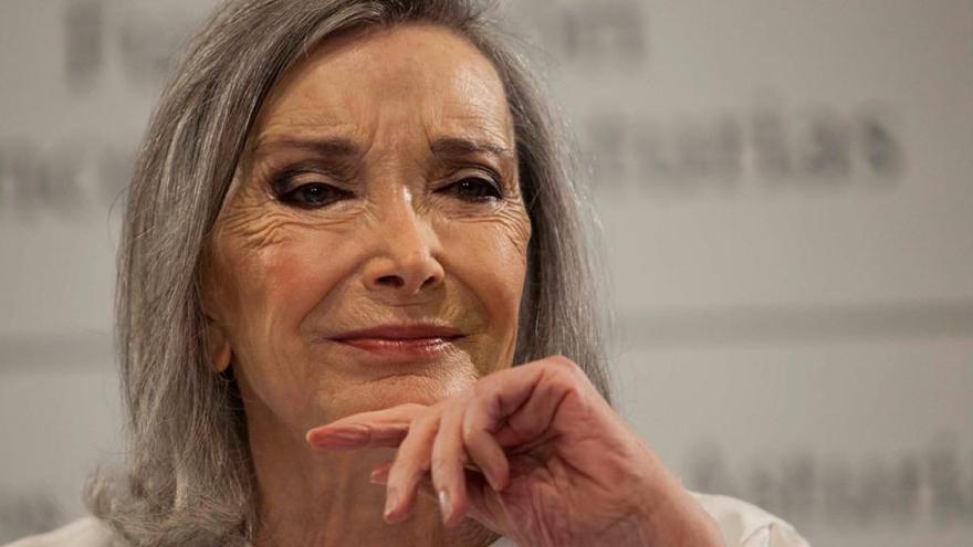 """Nuria Espert: """"El Princesa de Asturias es un premio al teatro"""""""