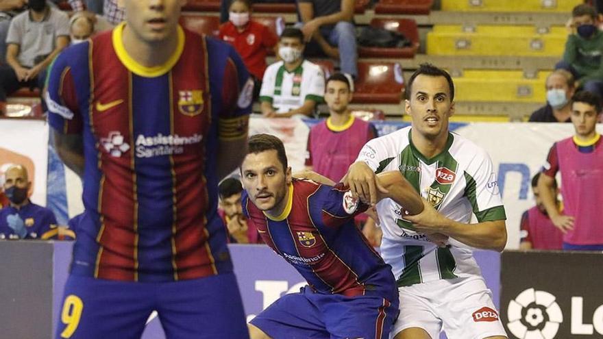 El Córdoba Futsal se cita con el Barça en el Palau