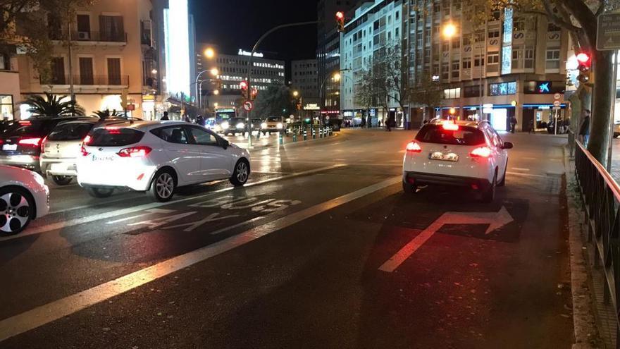 Cambios en el carril bus de avenidas