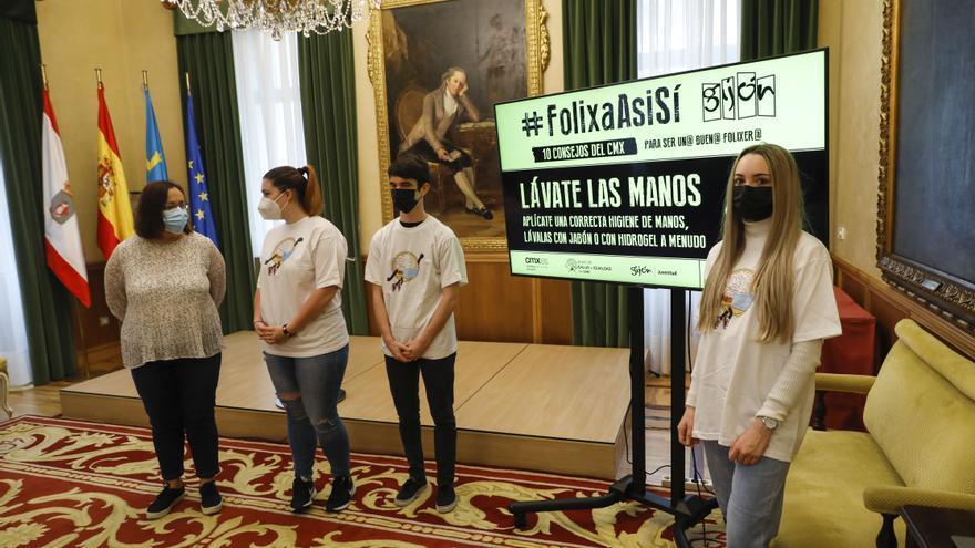 Los diez consejos de los jóvenes para salir de fiesta de forma responsable en Gijón