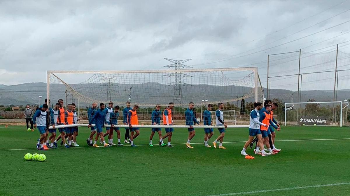 El Castellón prepara con calma el desplazamiento del lunes al estadio Santo Domingo de Alcorcón, merced a las dos victorias consecutivas (Albacete y Oviedo) que le han sacado del descenso.