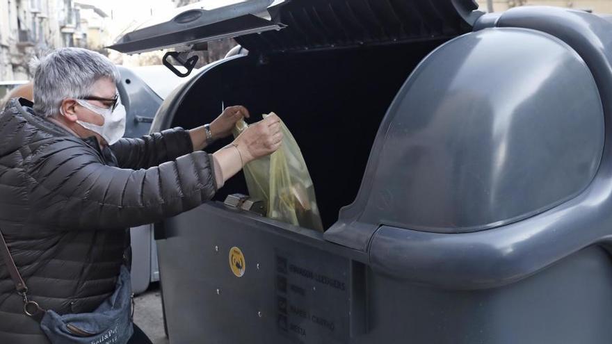 El reciclatge a l'Eixample de Girona s'enfila del 51% al 73% amb els contenidors intel·ligents