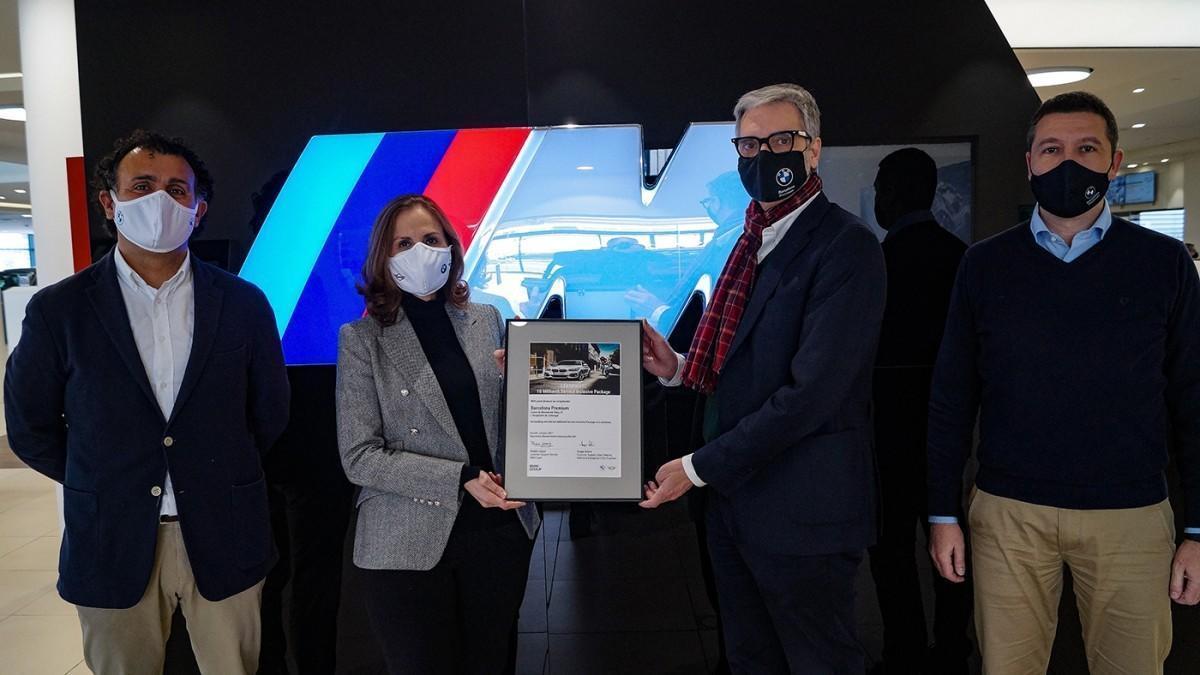 BMW entrega el paquete de mantenimiento Service Inclusive 10 millones